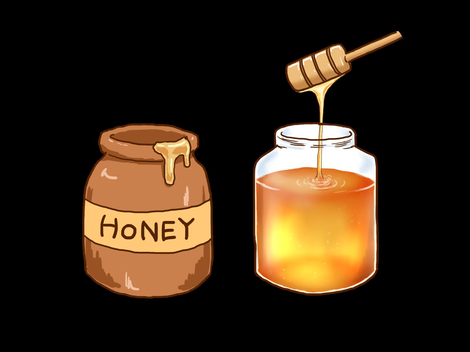 ハチミツイラスト