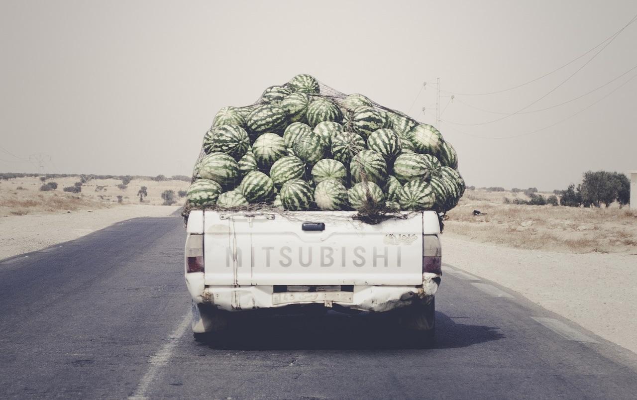 スイカトラック